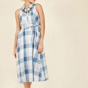 Rustic Redux Midi Dress in M